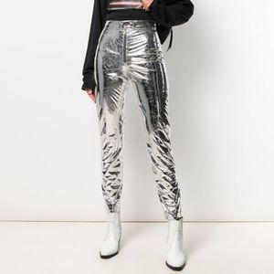 MSGM RUNWAY Metallic Pants